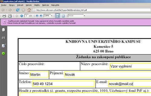 jak vyplnovat pdf