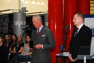 Návštěva prince z Walesu.